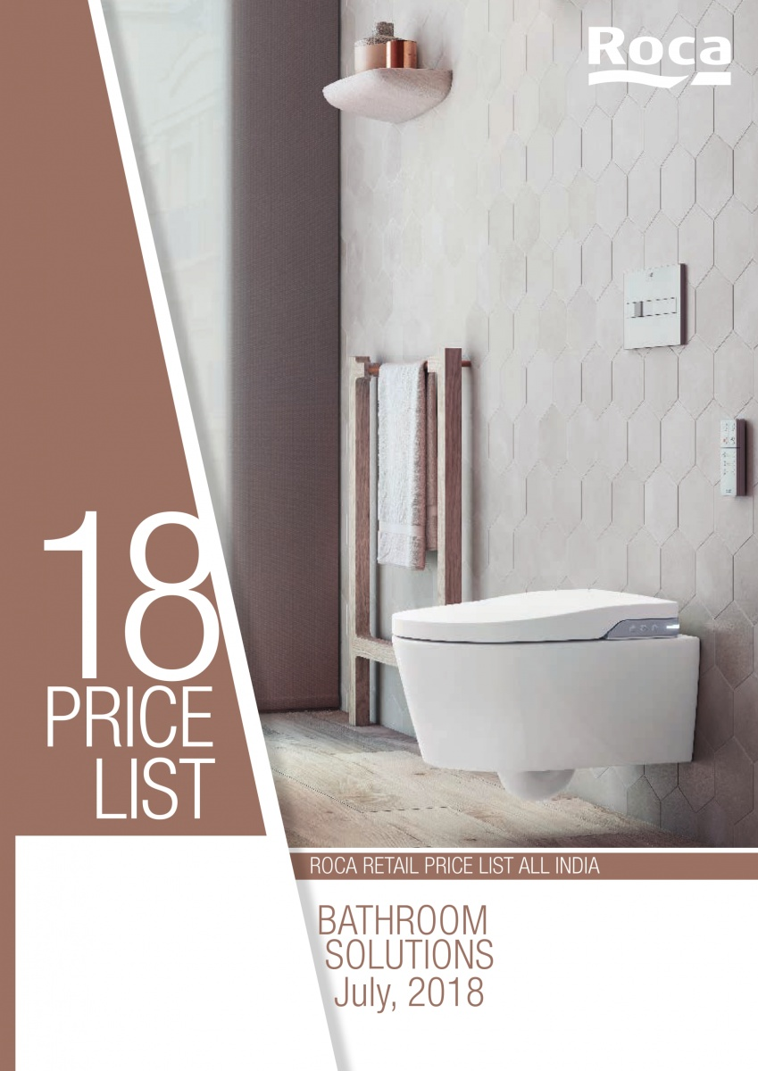Pricelist Bathroom Solutions 2019 India